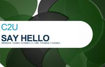 C2U – Say Hello